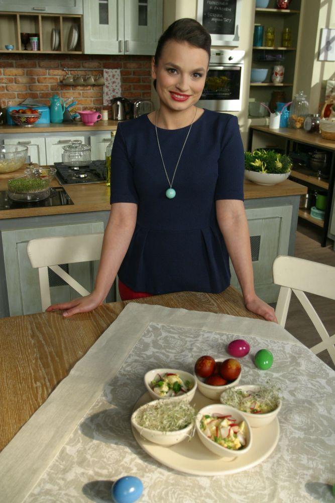 Ania Starmach prezentuje pastę jajeczną